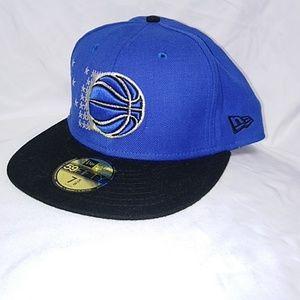 New Era 59Fifty Orlando Magic Hat. Size 7 5/8